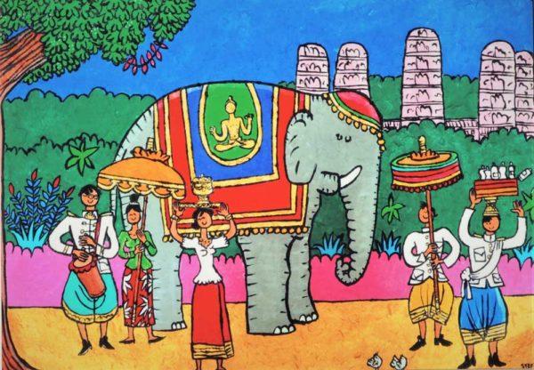 Happy Birthday Elephant by Stef