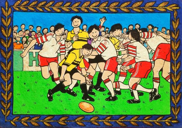 Rugby Time by Stef